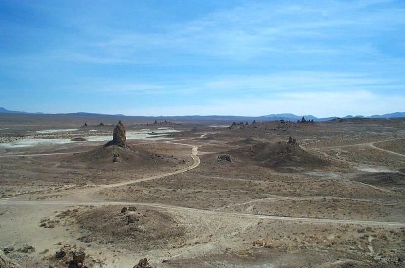 A desert scene