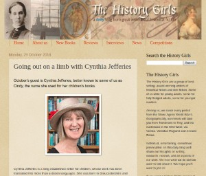 The History Girls blog